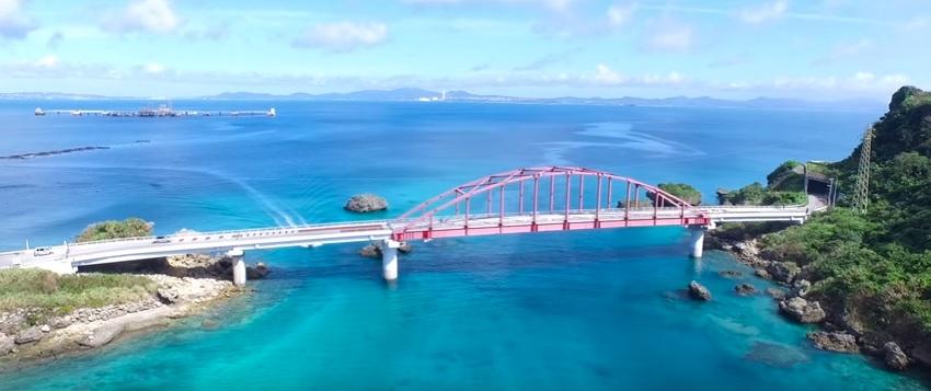 【うるま市公式動画】あやはし海中道路/離島